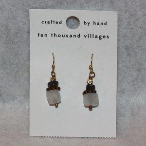 NEW Ten Thousand Villages-Handmade Earrings